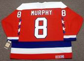 LARRY MURPHY Washington Capitals 1988 CCM Vintage Throwback NHL Hockey Jersey