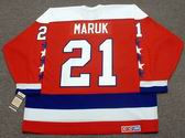DENNIS MARUK Washington Capitals 1982 CCM Vintage Throwback NHL Hockey Jersey