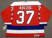 OLAF KOLZIG Washington Capitals 1994 CCM Vintage Throwback NHL Hockey Jersey