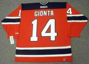 BRIAN GIONTA New Jersey Devils 2005 CCM Throwback NHL Hockey Jersey