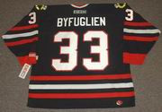 DUSTIN BYFUGLIEN Chicago Blackhawks CCM Alternate Home NHL Hockey Jersey