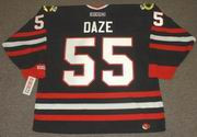 ERIC DAZE Chicago Blackhawks 1998 CCM Throwback Alternate NHL Hockey Jersey