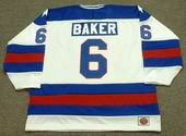 BILL BAKER 1980 USA Olympic Hockey Jersey