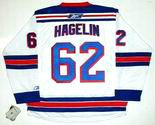 CARL HAGELIN New York Rangers REEBOK Premier Away NHL Hockey Jersey