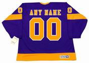 "LOS ANGELES KINGS 1970's CCM Vintage Away Jersey Customized ""Any Name & Number(s)"""