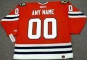 "CHICAGO BLACKHAWKS CCM Home Jersey Customized ""Any Name & Number(s)"""