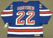 MIKE GARTNER New York Rangers 1992 CCM Vintage Throwback NHL Hockey Jersey