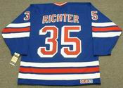MIKE RICHTER New York Rangers 1990's CCM Vintage Throwback NHL Hockey Jersey