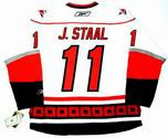 JORDAN STAAL Carolina Hurricanes REEBOK Premier Away NHL Jersey