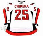 JASON CHIMERA Washington Capitals REEBOK Premier Away NHL Hockey Jersey