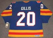 MIKE GILLIS Colorado Rockies 1979 CCM Vintage Throwback NHL Hockey Jersey