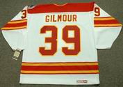 DOUG GILMOUR Calgary Flames 1989 CCM Vintage Throwback Home NHL Hockey Jersey