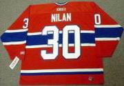 CHRIS NILAN Montreal Canadiens 1986 CCM Throwback Away NHL Hockey Jersey
