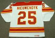JOE NIEUWENDYK Calgary Flames 1989 CCM Vintage Throwback Home NHL Hockey Jersey
