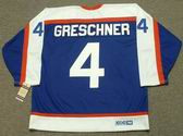 RON GRESCHNER New York Rangers 1978 CCM Vintage Throwback NHL Hockey Jersey