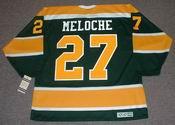 GILLES MELOCHE California Golden Seals 1972 CCM Vintage Throwback NHL Jersey