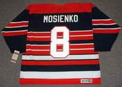 BILL MOSIENKO Chicago Blackhawks 1940's CCM Vintage Throwback NHL Hockey Jersey
