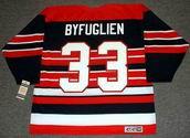 DUSTIN BYFUGLIEN Chicago Blackhawks 1940's CCM Vintage Throwback NHL Hockey Jersey