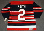 DUNCAN KEITH Chicago Blackhawks 1940's CCM Vintage Throwback NHL Hockey Jersey