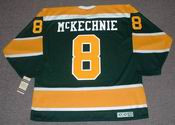WALT McKECHNIE California Golden Seals 1972 CCM Vintage Throwback NHL Jersey