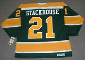 RON STACKHOUSE California Golden Seals 1970 CCM Vintage Throwback NHL Jersey