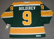 IVAN BOLDIREV California Golden Seals 1972 CCM Vintage Throwback NHL Jersey