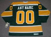 "CALIFORNIA GOLDEN SEALS 1970's CCM Vintage Jersey Customized ""Any Name & Numbers"""