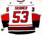 JEFF SKINNER Carolina Hurricanes REEBOK Premier Away NHL Jersey