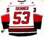 JEFF SKINNER Carolina Hurricanes REEBOK Premier Away NHL Jersey