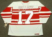 GERARD GALLANT Detroit Red Wings 1992 CCM Vintage Throwback Jersey