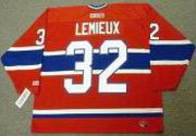 CLAUDE LEMIEUX Montreal Canadiens 1986 CCM Throwback Away NHL Hockey Jersey