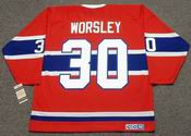 GUMP WORSLEY Montreal Canadiens 1965 CCM Vintage Throwback NHL Hockey Jersey