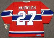 FRANK MAHOVLICH Montreal Canadiens 1973 CCM Vintage Throwback NHL Hockey Jersey