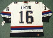 TREVOR LINDEN Vancouver Canucks 2005 CCM Throwback NHL Hockey Jersey