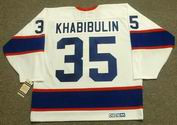 NIKOLAI KHABIBULIN Winnipeg Jets 1995 CCM Vintage Throwback Home NHL Jersey