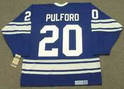 BOB PULFORD Toronto Maple Leafs 1967 CCM Vintage Throwback NHL Hockey Jersey