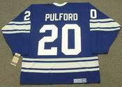 BOB PULFORD Toronto Maple Leafs 1967 CCM Vintage Home NHL Hockey Jersey