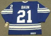 BOBBY BAUN Toronto Maple Leafs 1967 CCM Vintage Throwback NHL Hockey Jersey