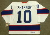 ALEX ZHAMNOV Winnipeg Jets 1993 CCM Vintage Throwback Home NHL Hockey Jersey