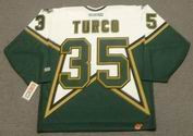 MARTY TURCO Dallas Stars 2003 CCM Throwback Home NHL Jersey