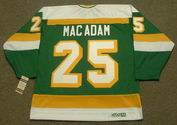AL MACADAM Minnesota North Stars 1979 CCM Vintage Throwback NHL Jersey