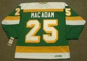 AL MACADAM Minnesota North Stars 1979 CCM Vintage Throwback NHL Jersey