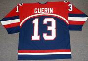 BILL GUERIN 2002 USA Nike Olympic Throwback Hockey Jersey