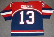 BILL GUERIN 2002 USA Nike Olympic Throwback Hockey Jersey