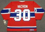 ROGIE VACHON Montreal Canadiens 1968 CCM Vintage Throwback NHL Hockey Jersey