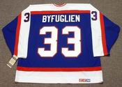 DUSTIN BYFUGLIEN Winnipeg Jets 1980's CCM Vintage Throwback NHL Hockey Jersey