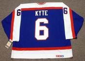 JIM KYTE Winnipeg Jets 1986 CCM Vintage Throwback NHL Hockey Jersey