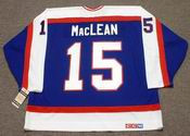 PAUL MacLEAN Winnipeg Jets 1984 CCM Vintage Throwback NHL Hockey Jersey
