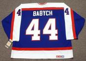 DAVE BABYCH Winnipeg Jets 1982 CCM Vintage Throwback NHL Hockey Jersey