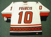 RON FRANCIS Carolina Hurricanes 2002 CCM Throwback Home NHL Hockey Jersey